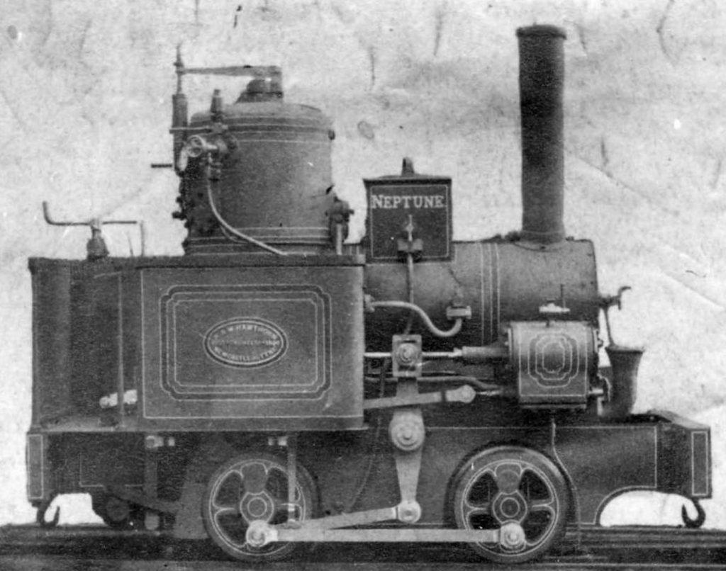 7 1/4-inch gauge NEPTUNE 0-4-0