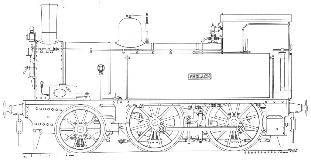 7 1/4-inch gauge SHELAGH