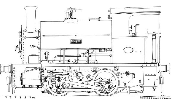 7 1/4-inch gauge JESSIE
