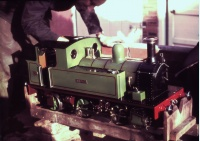 Briget first steam 1959.jpg