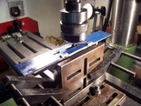 03 - Milling the drawbar slots in the drag beam K3.jpg